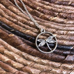 Jewelry - 3 for $30  dragonfly necklaces